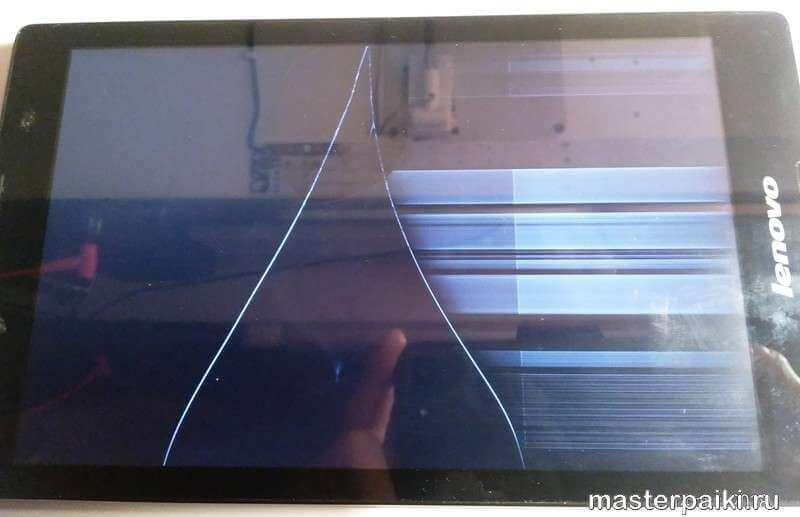 треснул дисплей планшета Lenovo TAB 2 A8-50CL