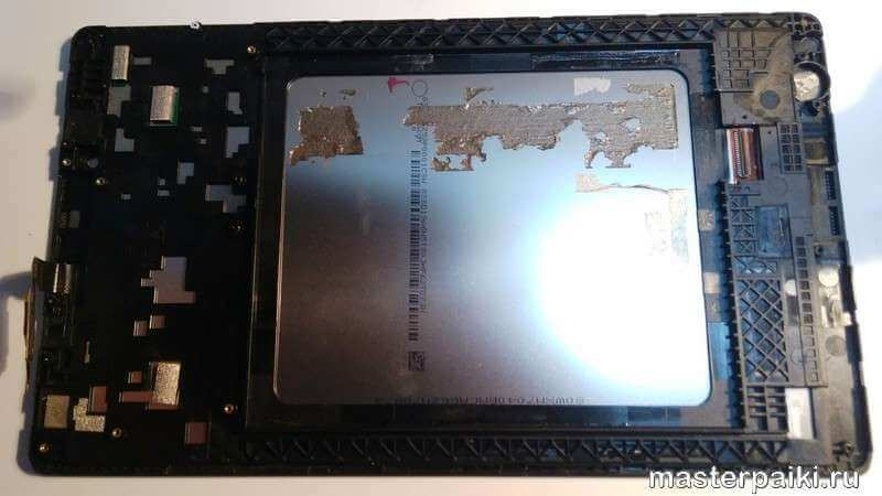 передняя часть планшета Lenovo TAB 2 A8-50CL