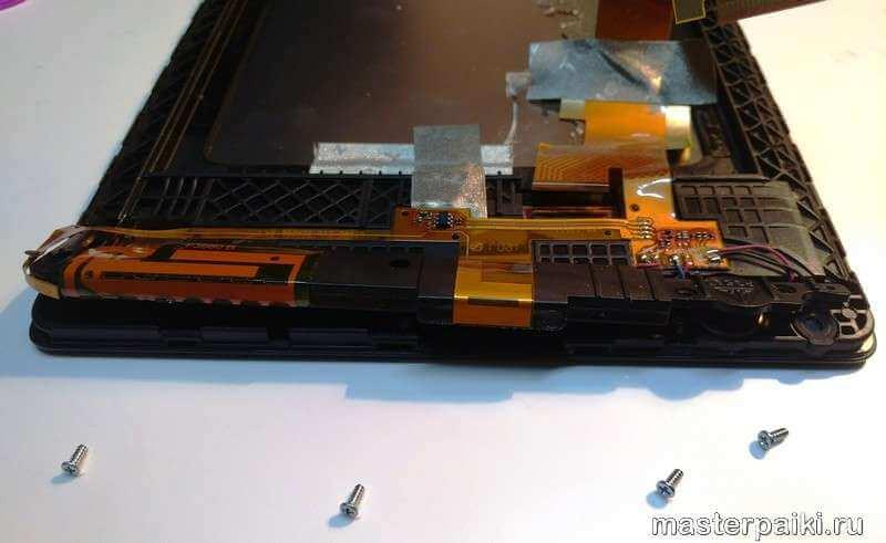 снять антенный модуль планшета Lenovo TAB 2 A8-50CL