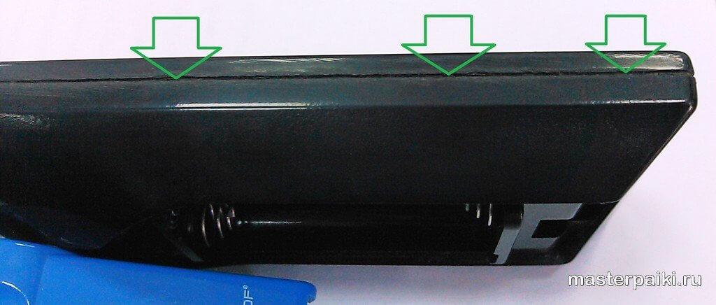 шов пульта управления плазменного ТВ lg 42pc3r