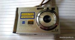 внешний вид фотоаппарата Sony DSC-W80