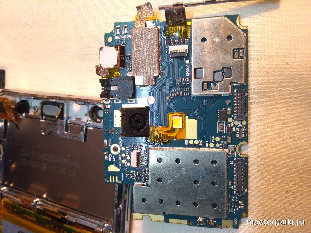 электронная плата смартфонаVertex Impress RA 4G