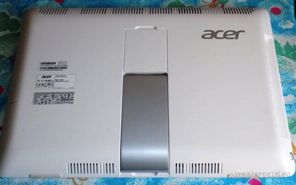 задняя панель моноблока ACER Aspire Z1-612