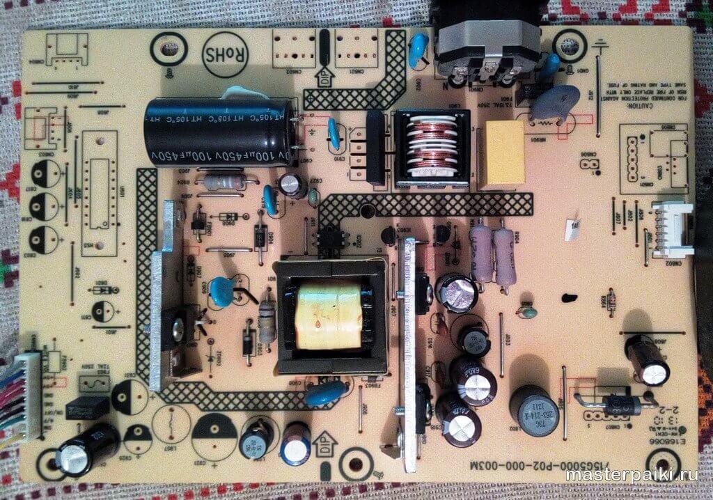 15G5000-P02-000-003M плата питания монитора BenQ GL2450 T