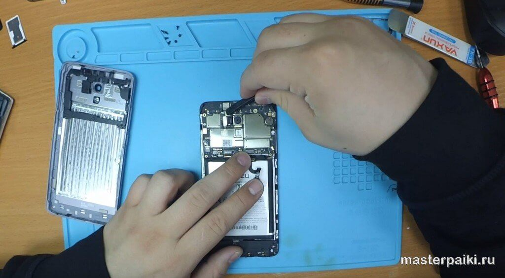 отключить камеру Meizu M5 Note