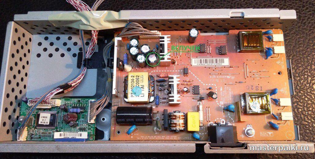 плата питания монитора LG Flatron L1952S