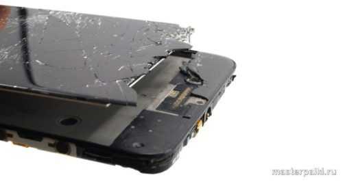 разбитый тачскрин ZTE Blade A610